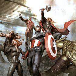 Adi Granov / Keyframe for Marvel's The Avengers 2012 / © 2017 MARVEL<br><br><br><br>