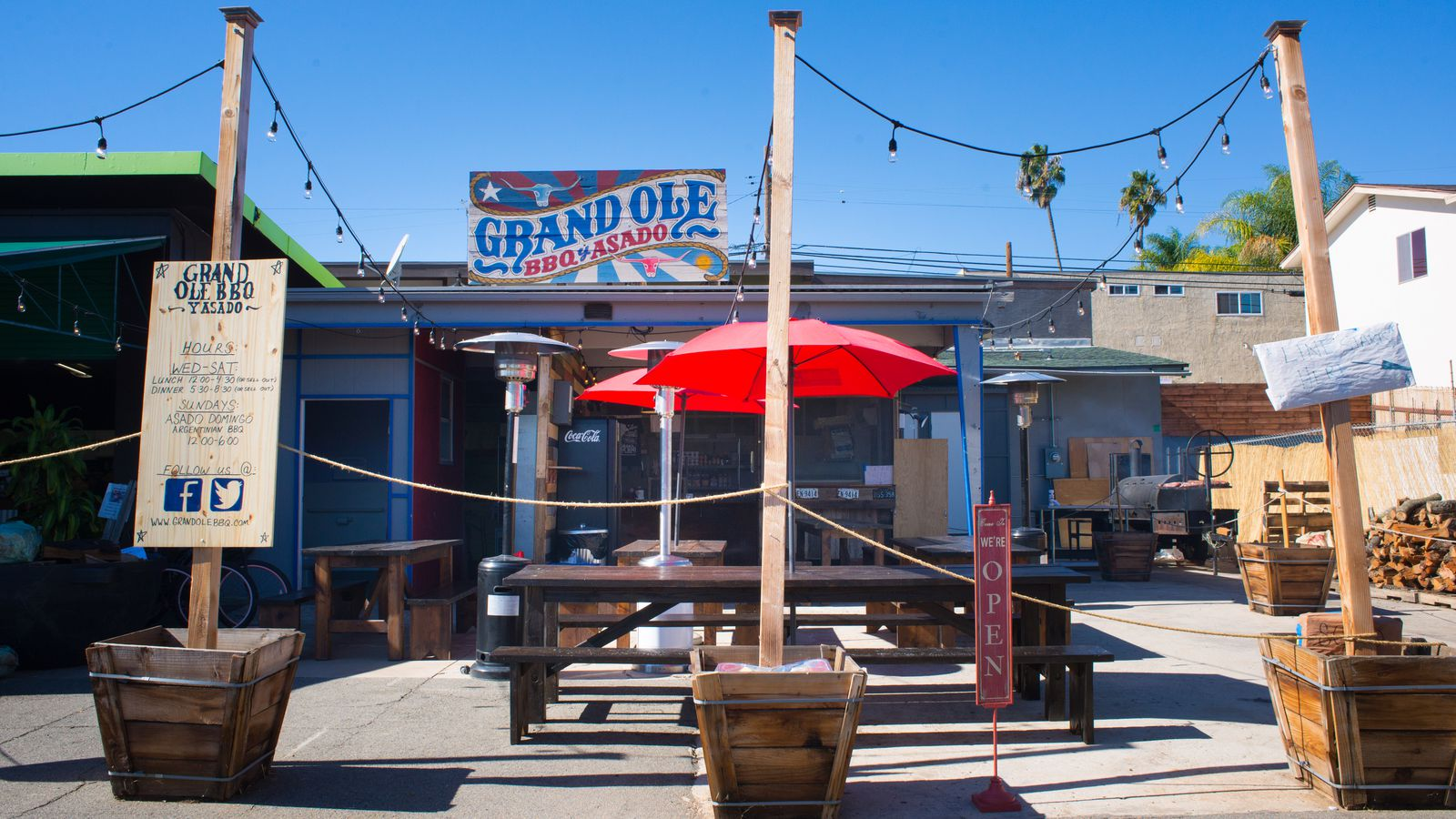 Grand Ole BBQ Sets Grand Opening in East County - Eater ...