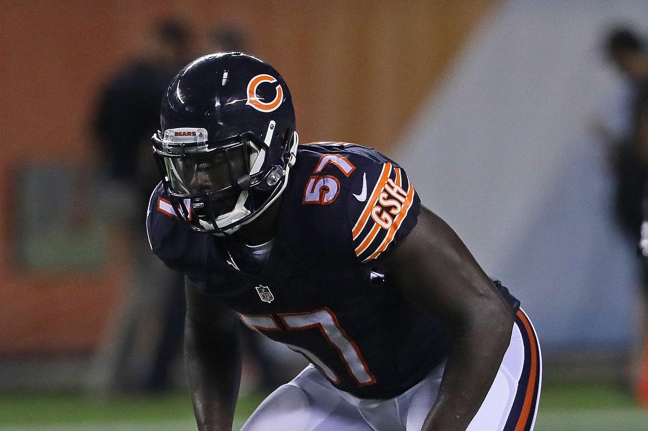 nfl GAME Chicago Bears Jarrett Grace Jerseys