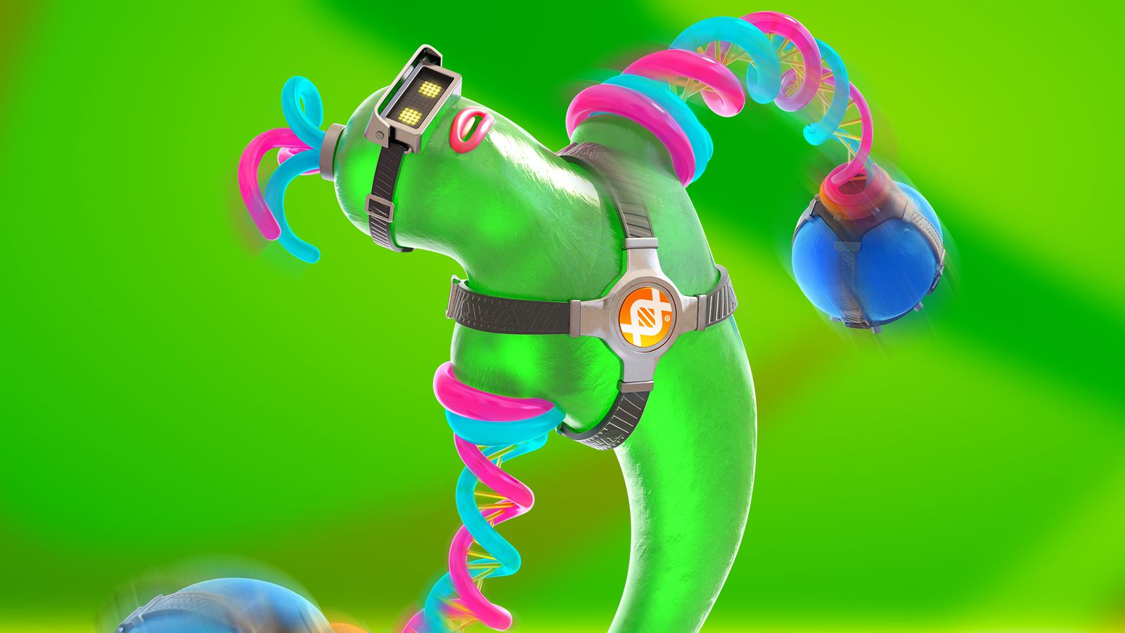 Arms' newest fighter is a disgusting, sensual green blob
