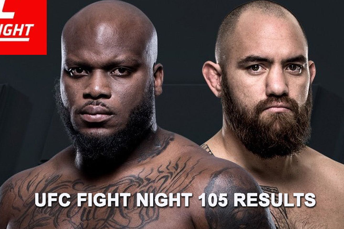 community news, UFC Fight Night 105 live results stream, Lewis vs Browne play by play updates