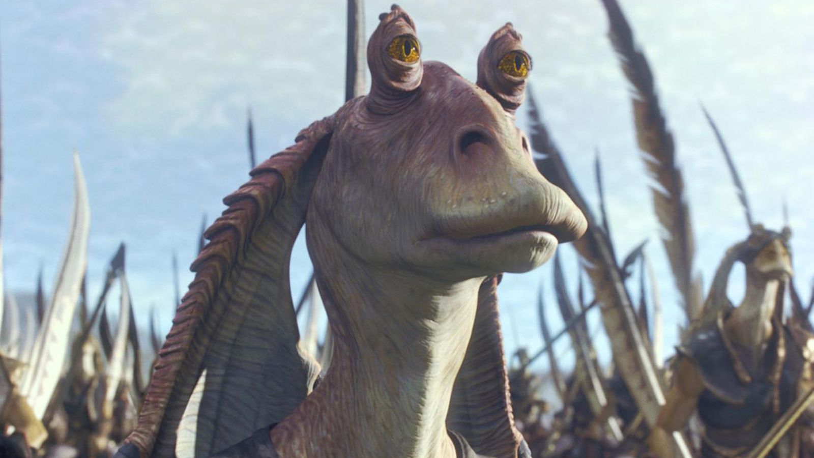 jar jar binks iphone wallpaper