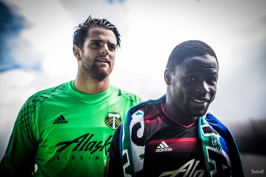 The portland timbers hosted vancouver whitecaps for a sunday afternoon
