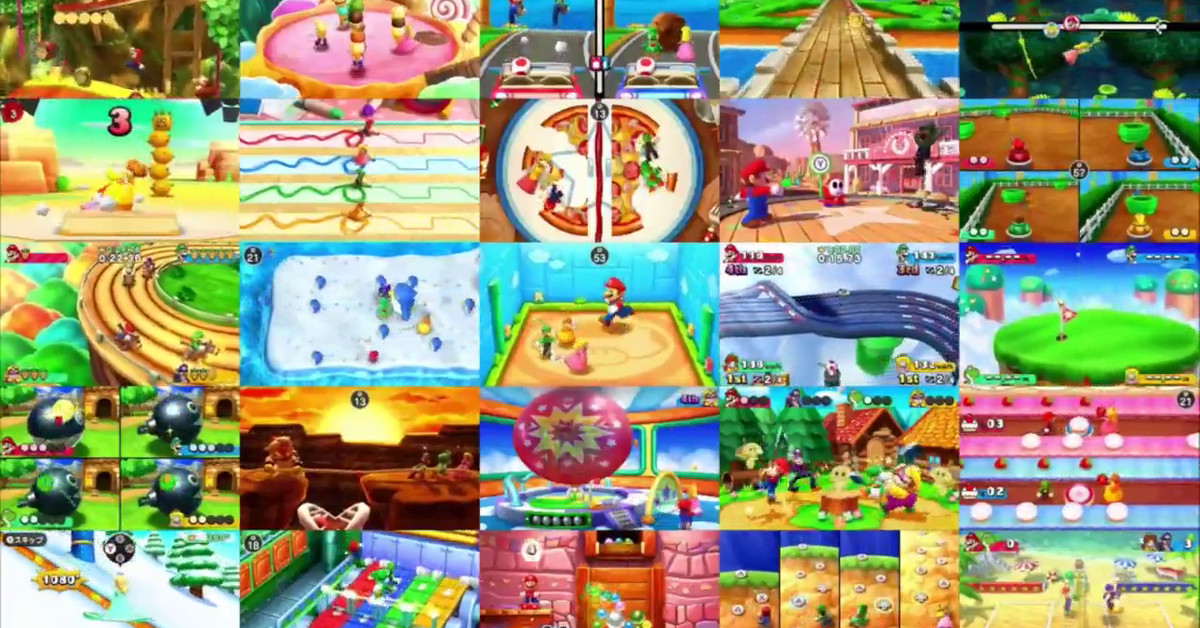 Mario Party's best minigames being collected in Mario Party: The Top 100