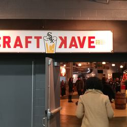 """The new """"Craft Kave"""" that replaces the Miller Lite Lounge. This rebrand is more restaurant than bar allowing all ages to enter and serving a new craft burger menu."""