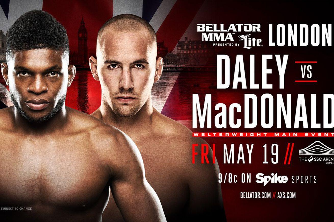 Bellator 179: Paul Daley vs Rory MacDonald main event set for May 19 in London