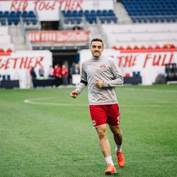 NYRB II brought in some first team faces for this one, including Brandon Allen and Michael Amir Murillo