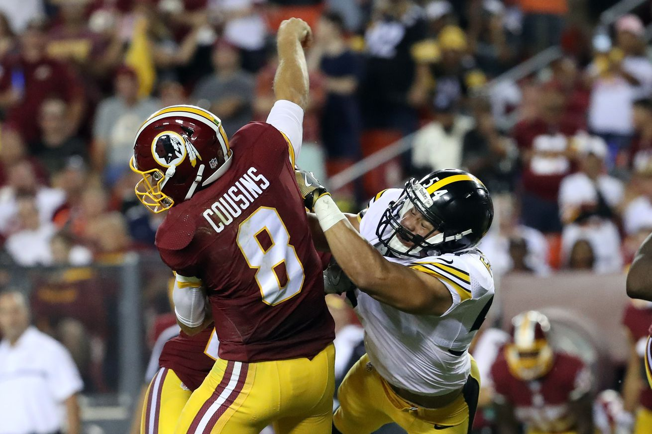 Steelers trounce Redskins, 38-16, in season opener