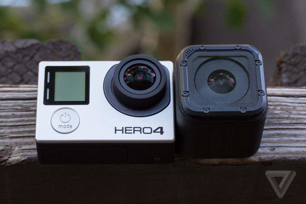 gopro 39 s hero 4 session is its smallest camera ever the verge. Black Bedroom Furniture Sets. Home Design Ideas