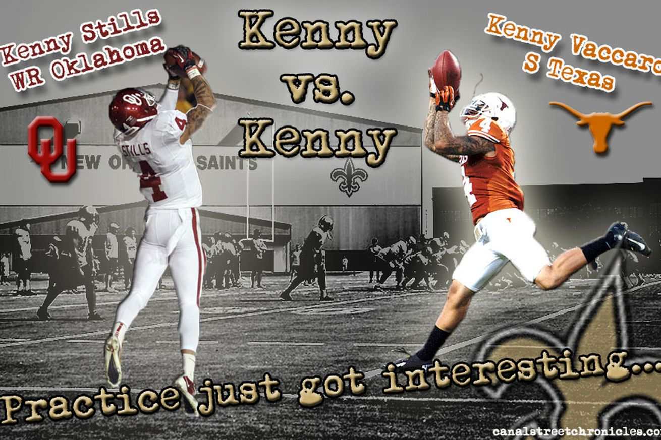 NFL Jerseys Official - Kenny Vaccaro vs. Kenny Stills - Canal Street Chronicles