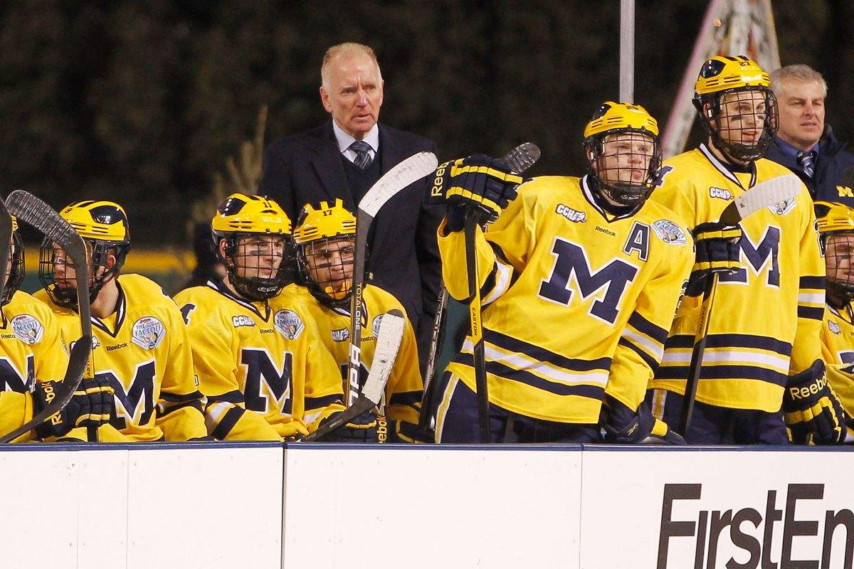 Michigan Hockey: Mel Pearson Takes The Reins