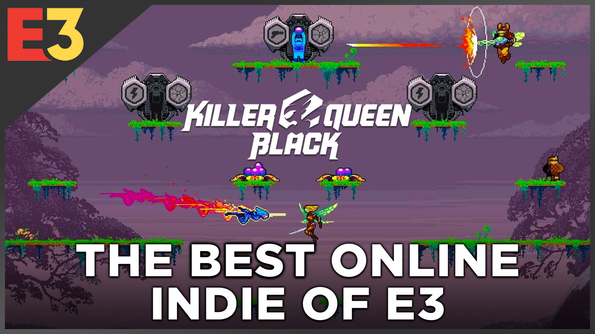Killer Queen Black for Switch has the best online mechanic at E3
