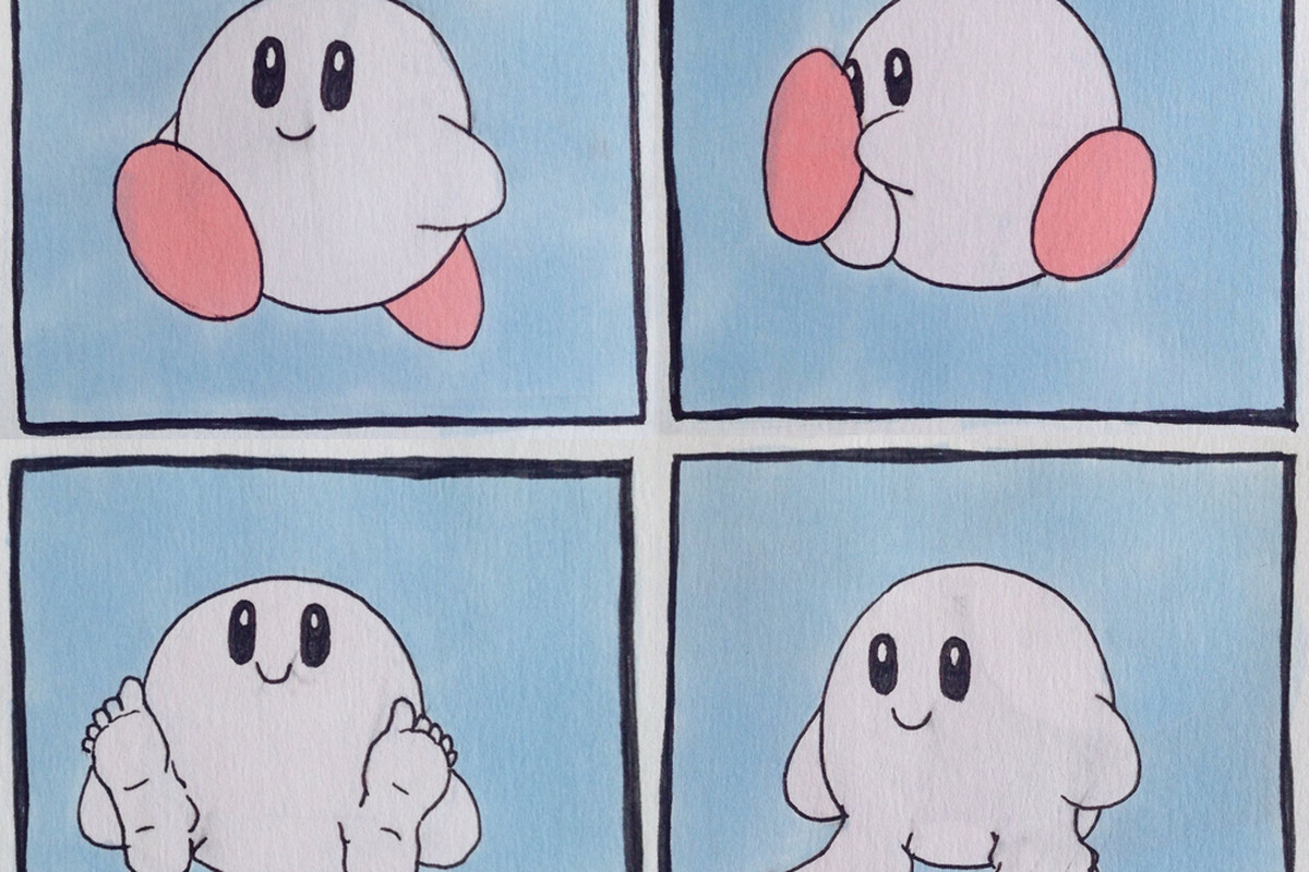 Kirby With Human Feet Was Always Designed To Disturb You -5370
