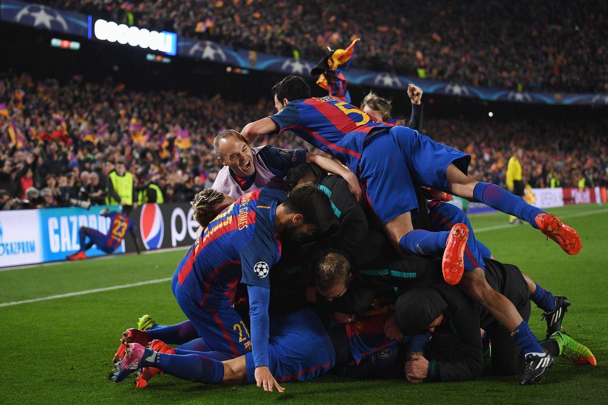 champions league barca