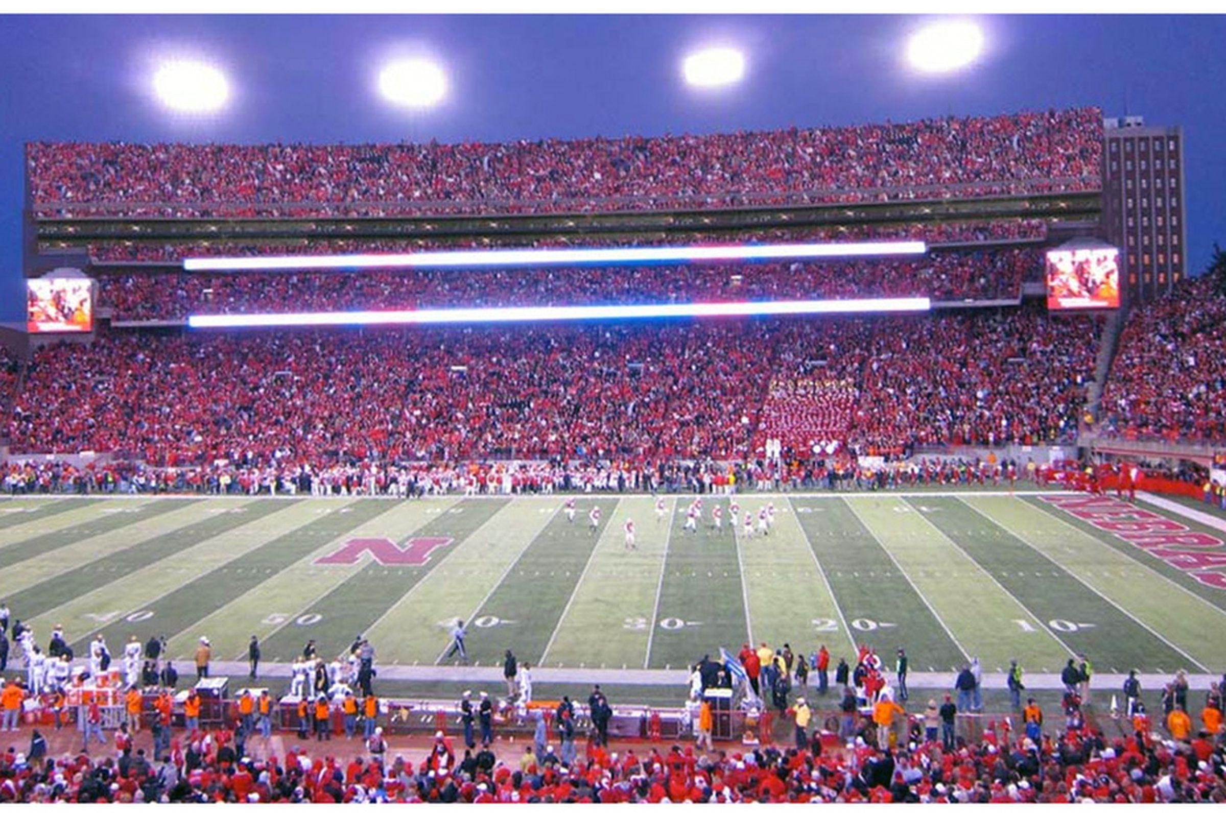 East stadium expansion will look on gameday university of nebraska