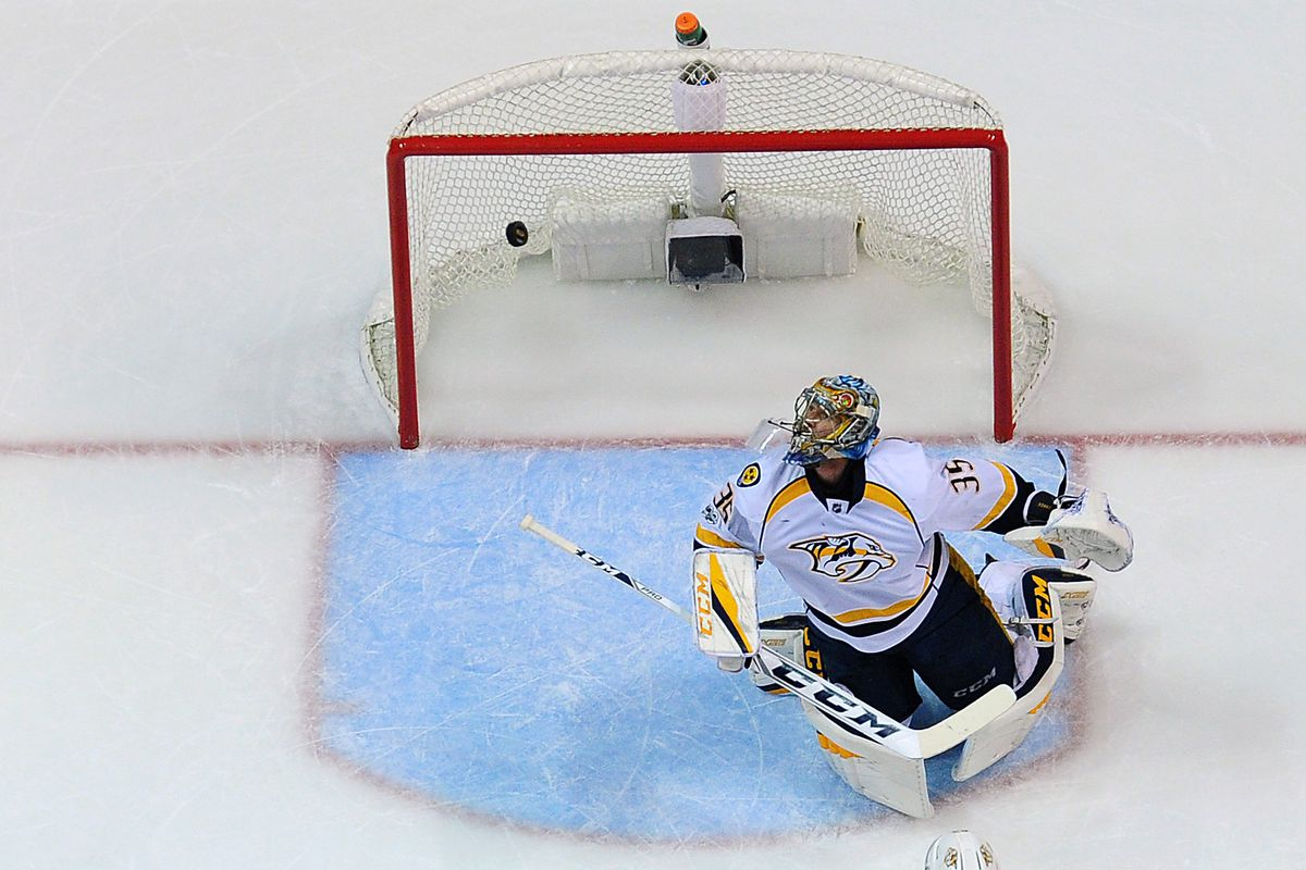 Predators edge Blues 2-1, take 3-1 series lead