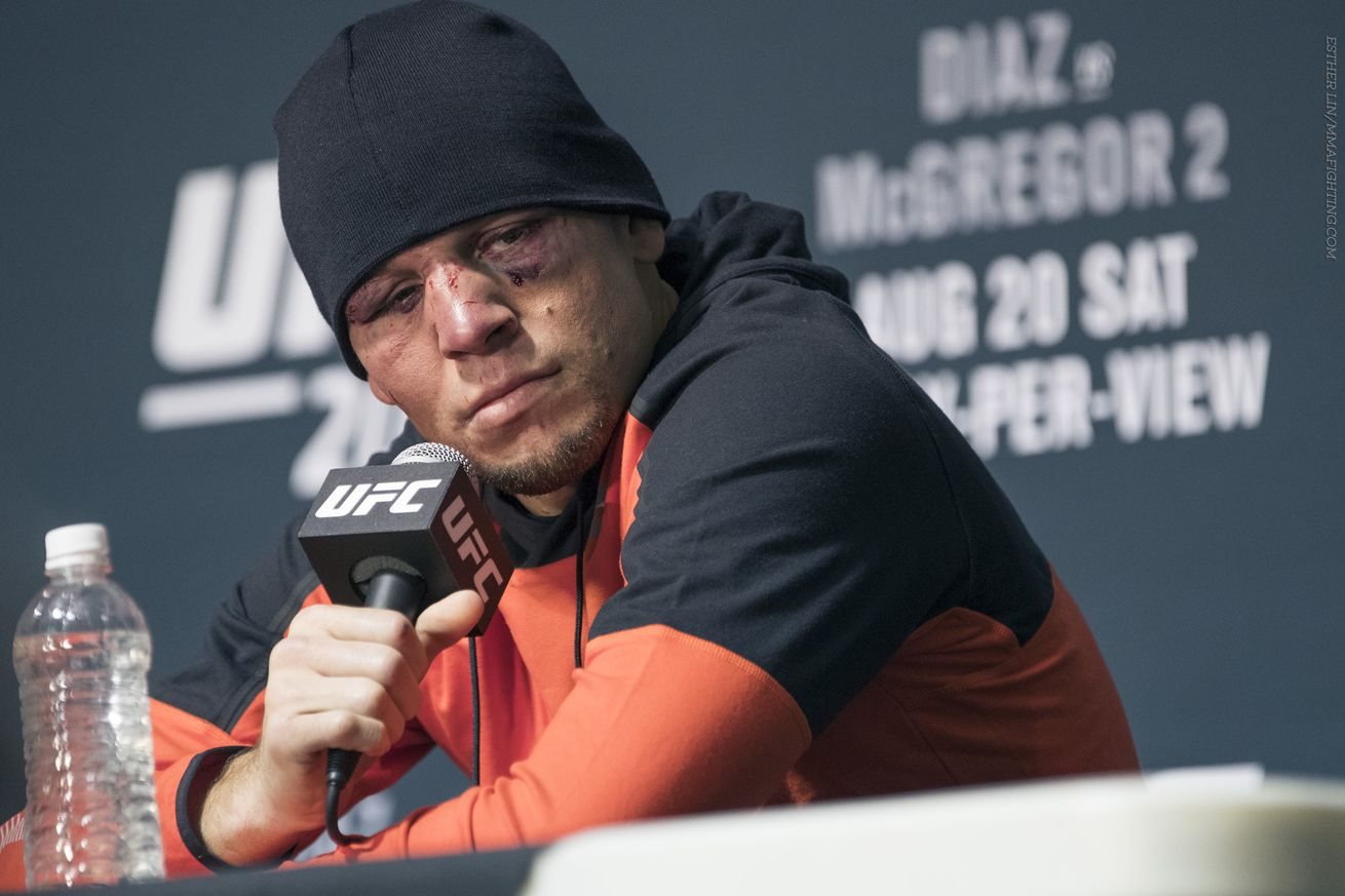 community news, Nate Diaz in no hurry for Conor McGregor trilogy: 'I think I beat him twice'