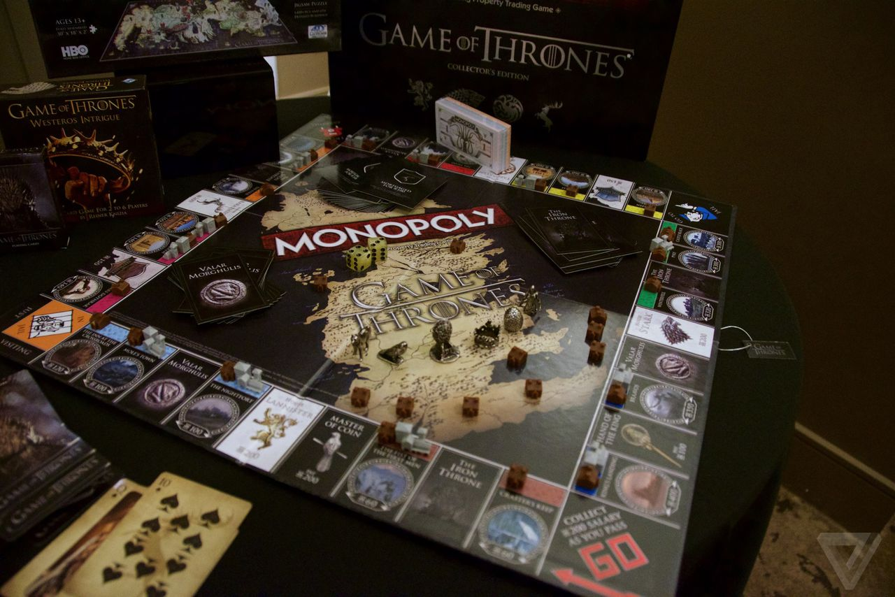 everything wrong with game of thrones monopoly the verge. Black Bedroom Furniture Sets. Home Design Ideas