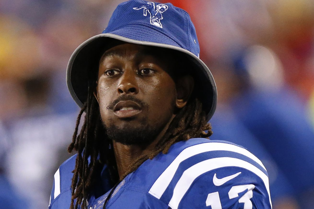 Here's why T.Y. Hilton, Vontae Davis, and Robert Mathis didn't play Saturday night