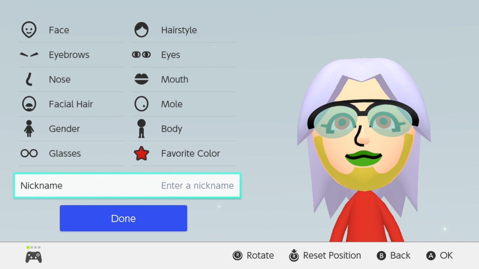 Nintendo Switch S Mii Editor Gets Colorful Polygon