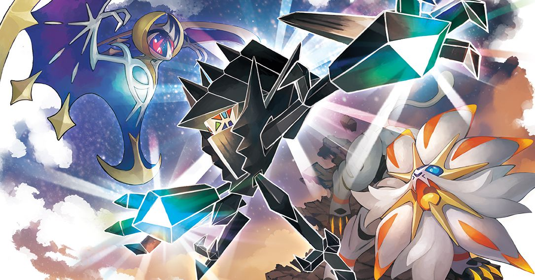 Pok 233 Mon Ultra Sun And Ultra Moon Introduce New Legendary Z