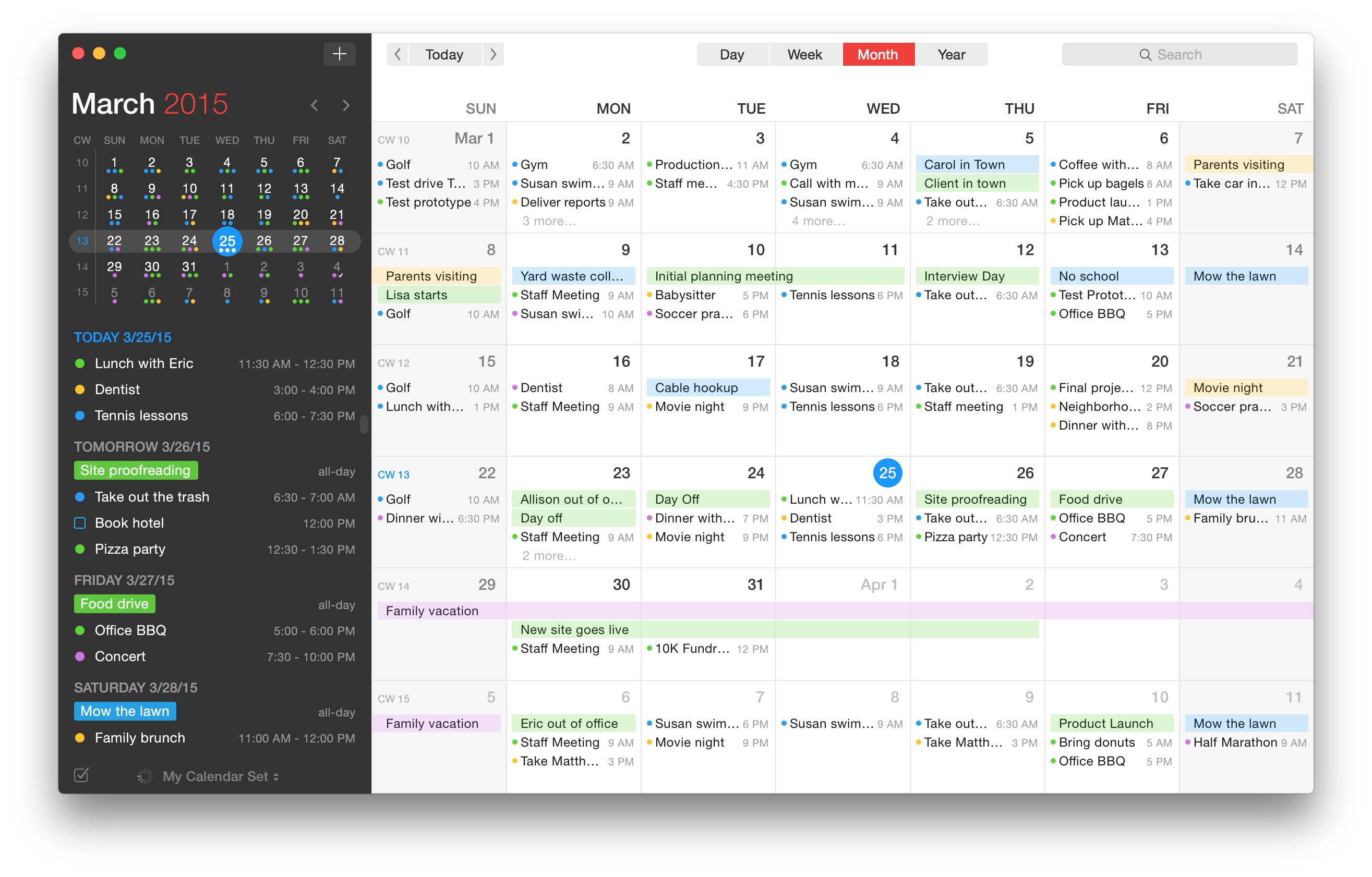 Fantastical 2 is the calendar app your Mac has been waiting for ...