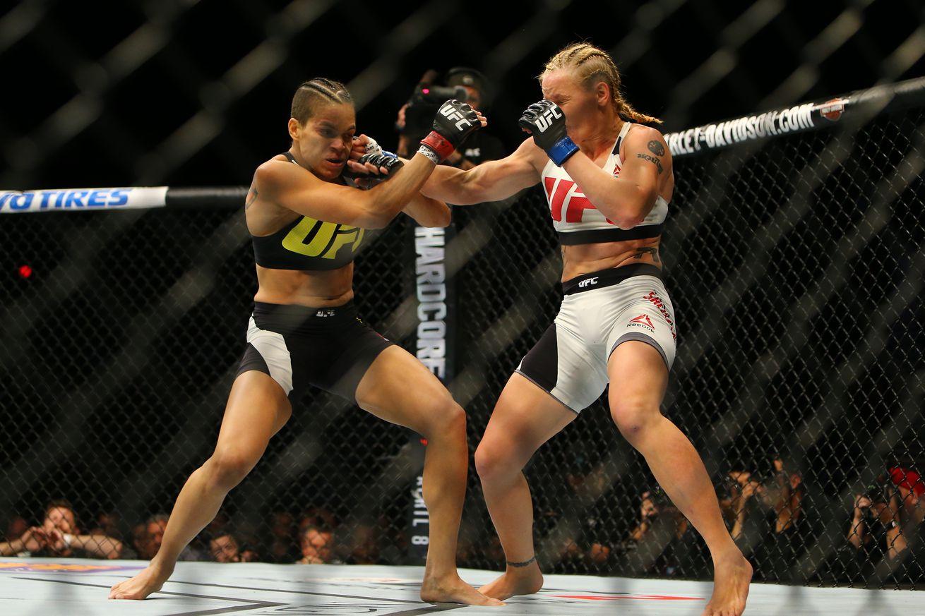 UFC 213: Amanda Nunes vs Valentina Shevchenko possible for July 8 in Las Vegas