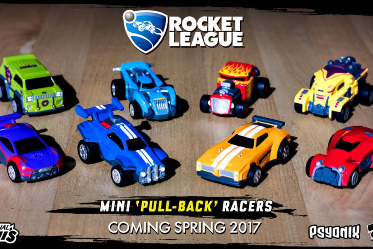 rocket league is getting its own range of toy cars the verge. Black Bedroom Furniture Sets. Home Design Ideas