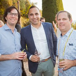 From left, Russell Wallach (Live Nation), Mike Hadgis(SVP, Head of Global Revenue & Partnerships, Vox Media), Tony Weisman (DigitasLBi)