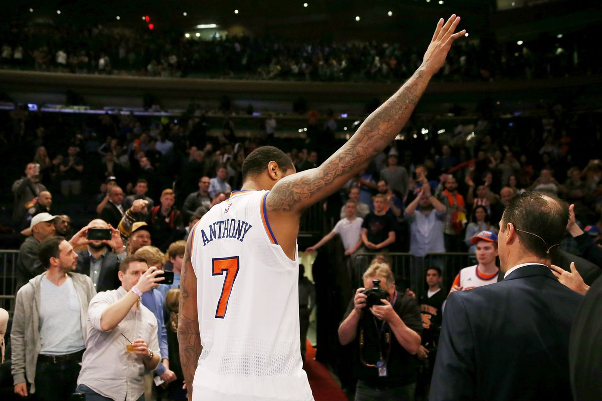 Phil Jackson: Carmelo Anthony 'better off somewhere else'