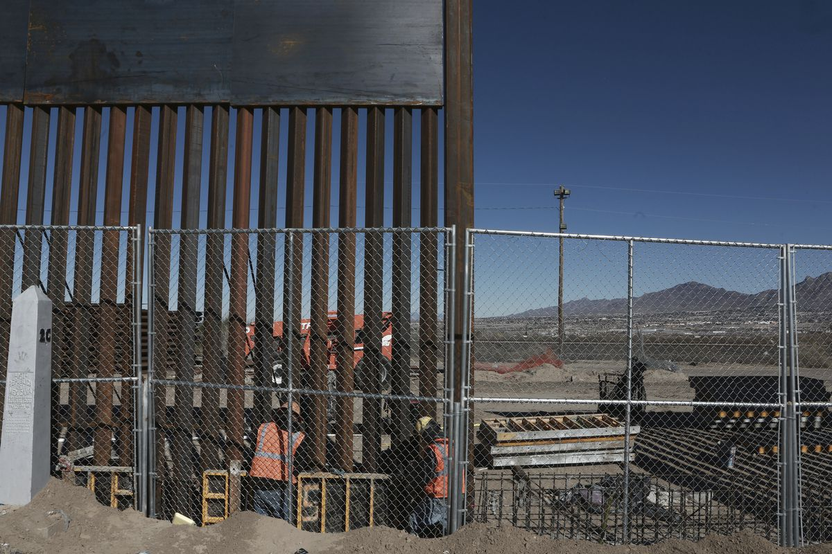 Trump S Wall Plan Moves Ahead And Design Firms Are