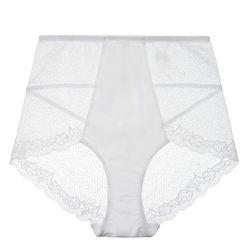 "Fortnight <a href=""https://fortnightlingerie.com/product/ruby-seamless-high-waist-white/"">Ruby Seamless High Waist</a>, $62"