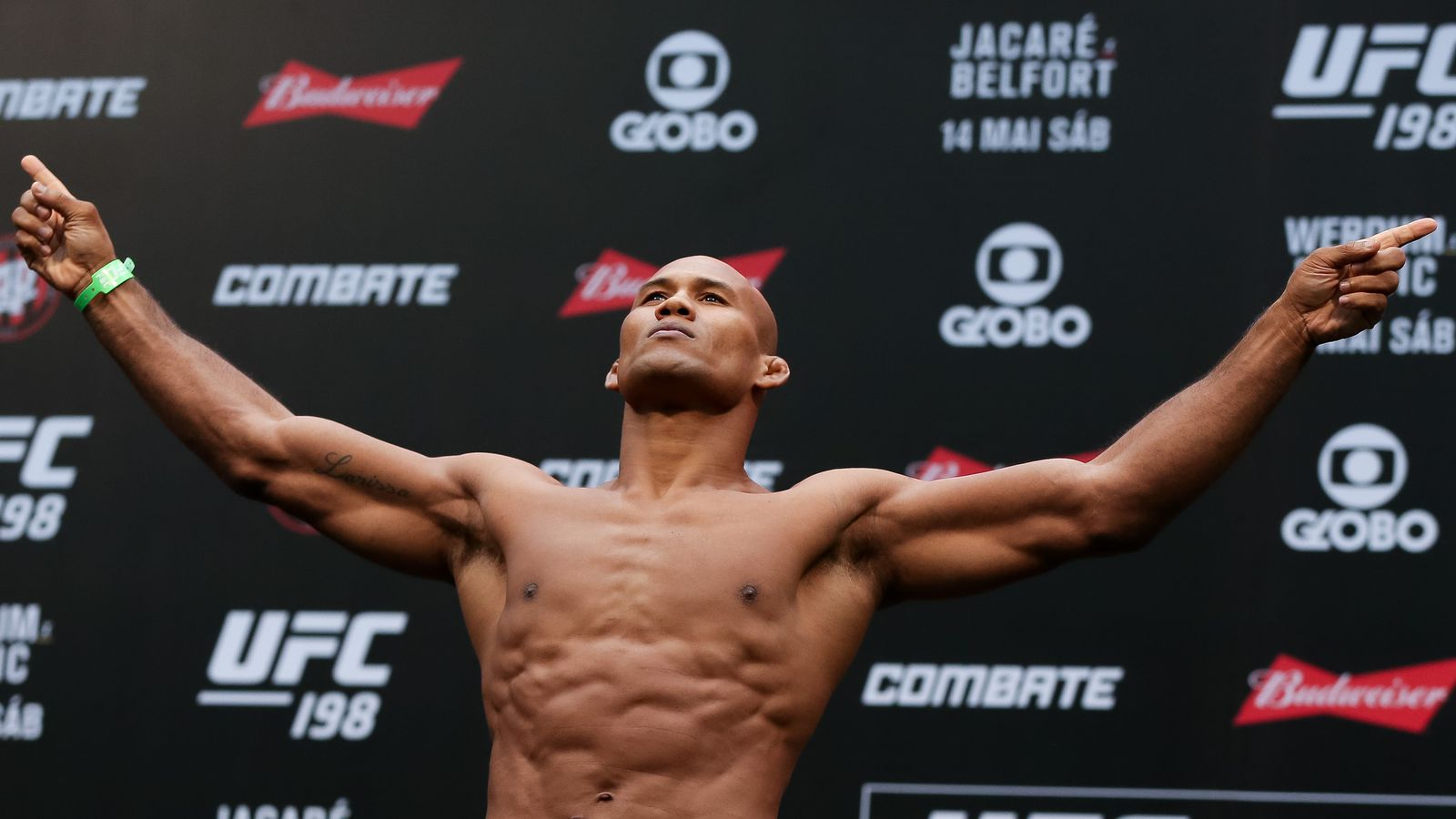 Jacare Souza says Michael Bisping is 'running from him': 'It's ...