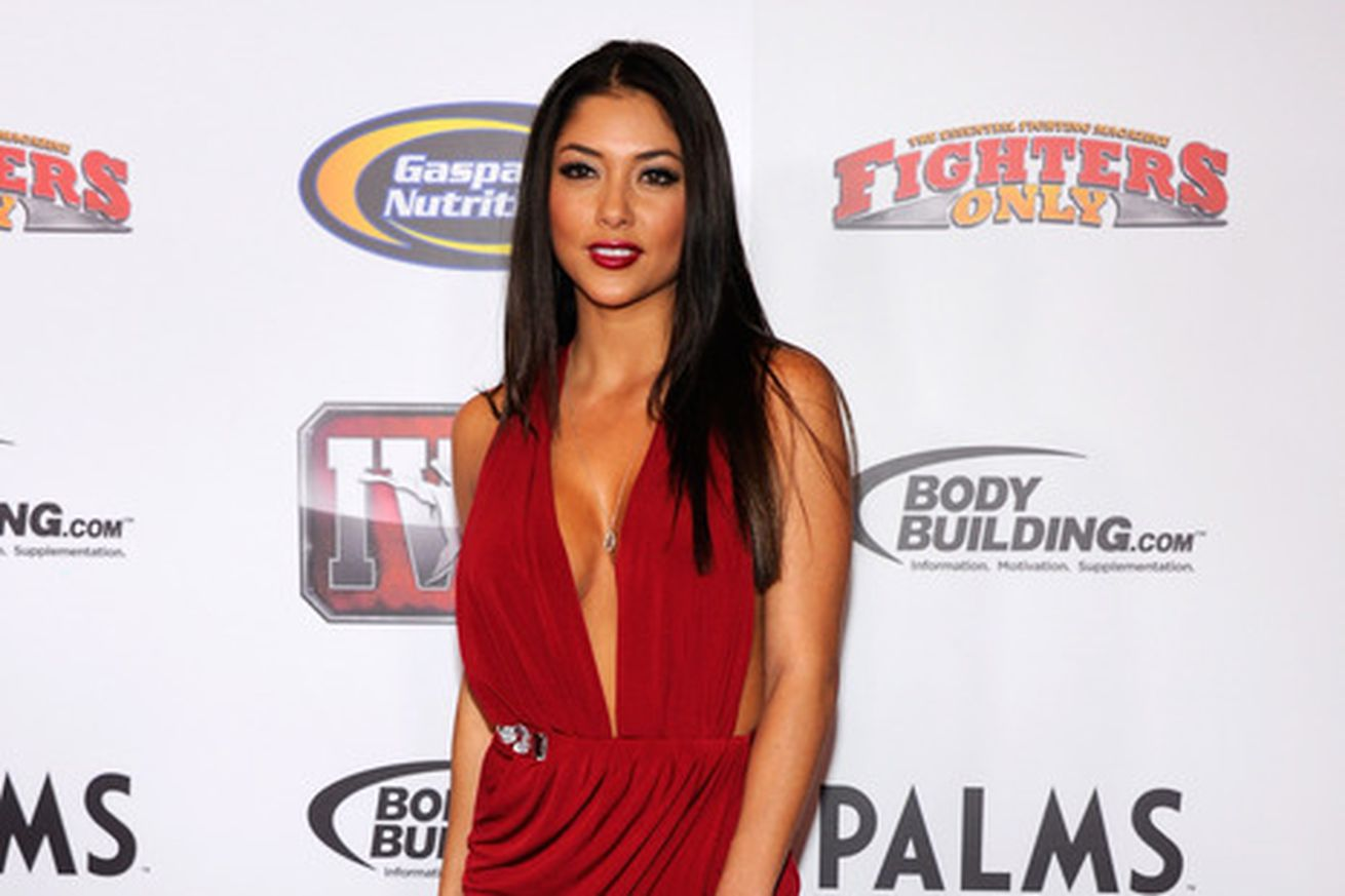 Ufc Octagon Girl Arianny Celeste Co Host Overhaulin Car Tv Show Velocity on old car racing tv show