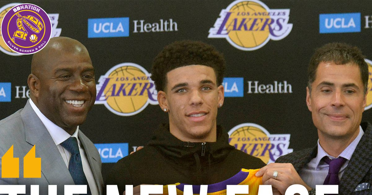 e84674d2df0 Magic Johnson calls Lonzo Ball 'the new face of the Lakers' - Silver Screen  and Roll