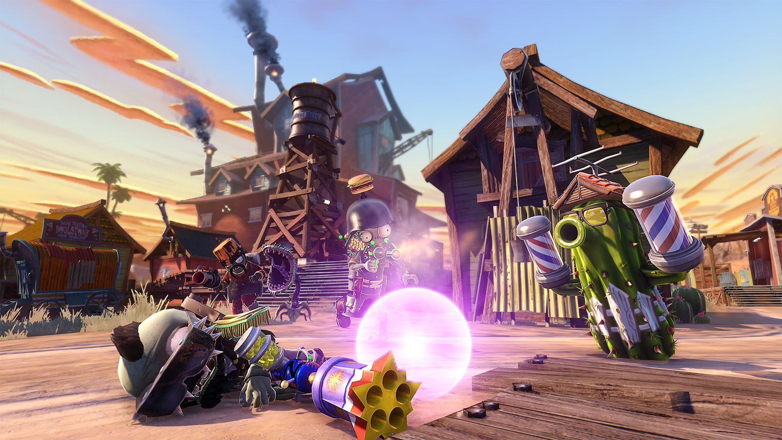 Plants vs zombies garden warfare gets aquafina sponsored characters in new dlc polygon for Plants vs zombies garden warfare 1