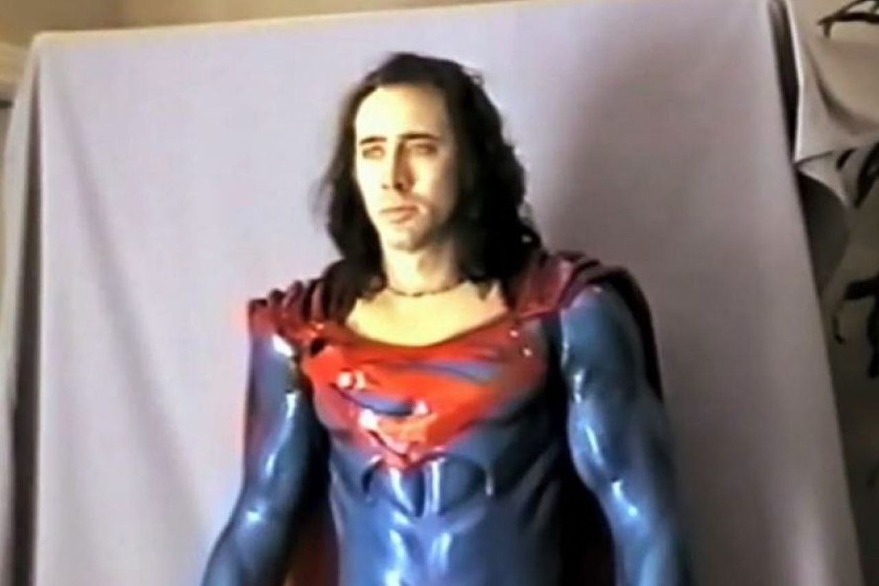 Could Nicolas Cages Failed Superman Movie Actually Have -7816