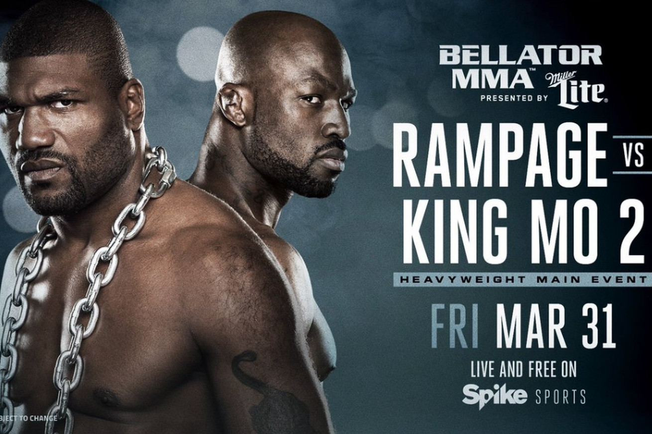 community news, Bellator 175: Rampage Jackson vs King Mo 2 fight set for March 31