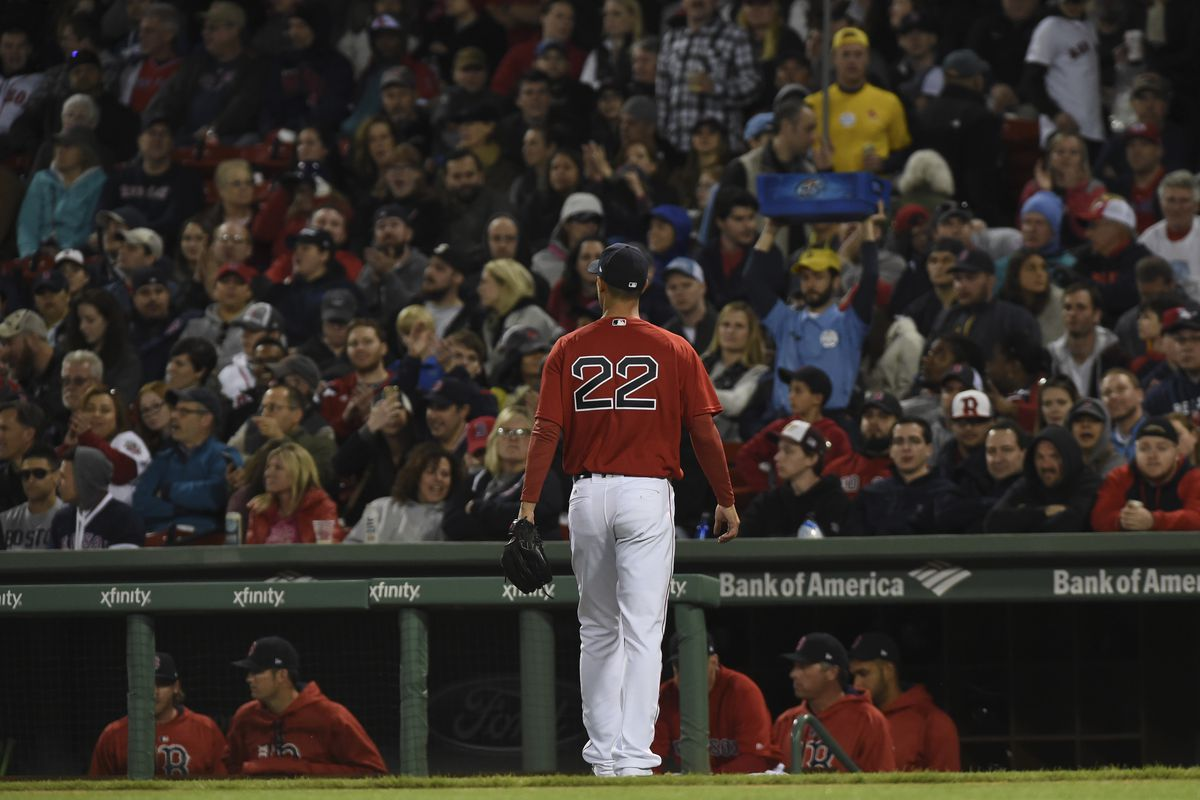 Red Sox DH Ramirez exits with hamstring cramp