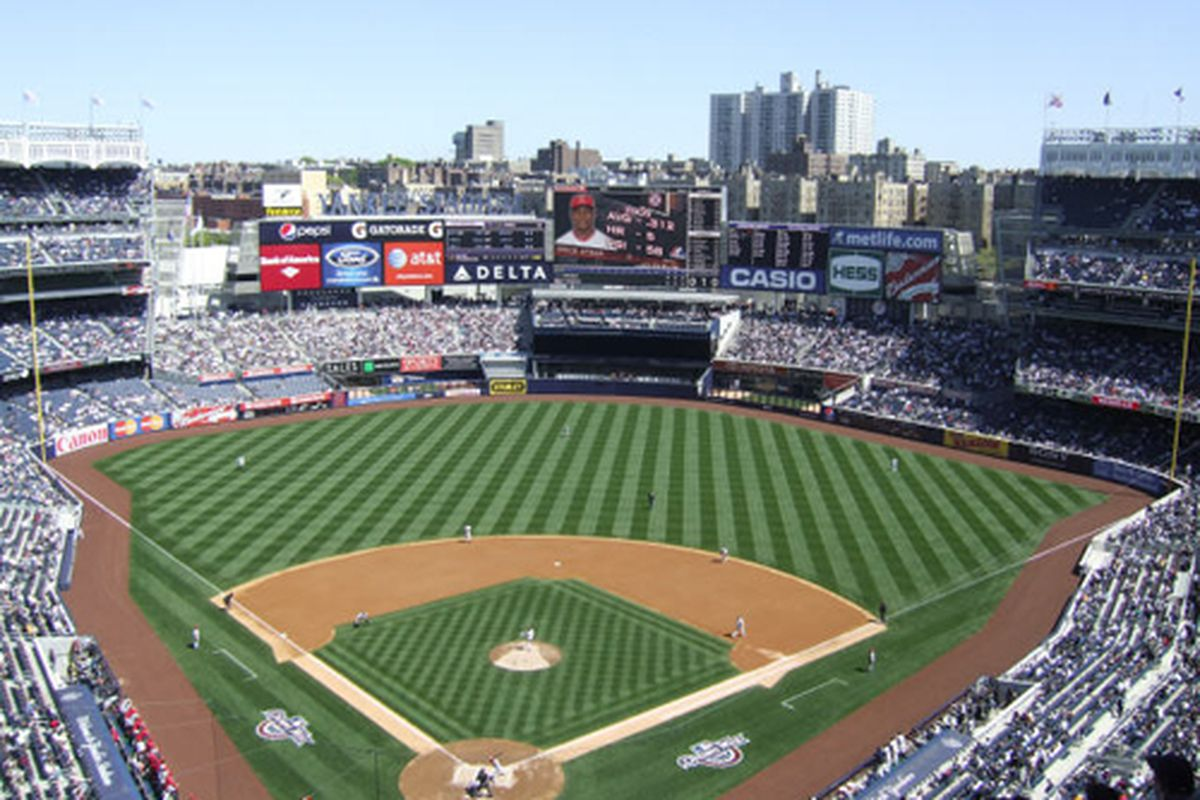 What to eat at yankee stadium home of the ny yankees eater ny - Yankee stadium images ...
