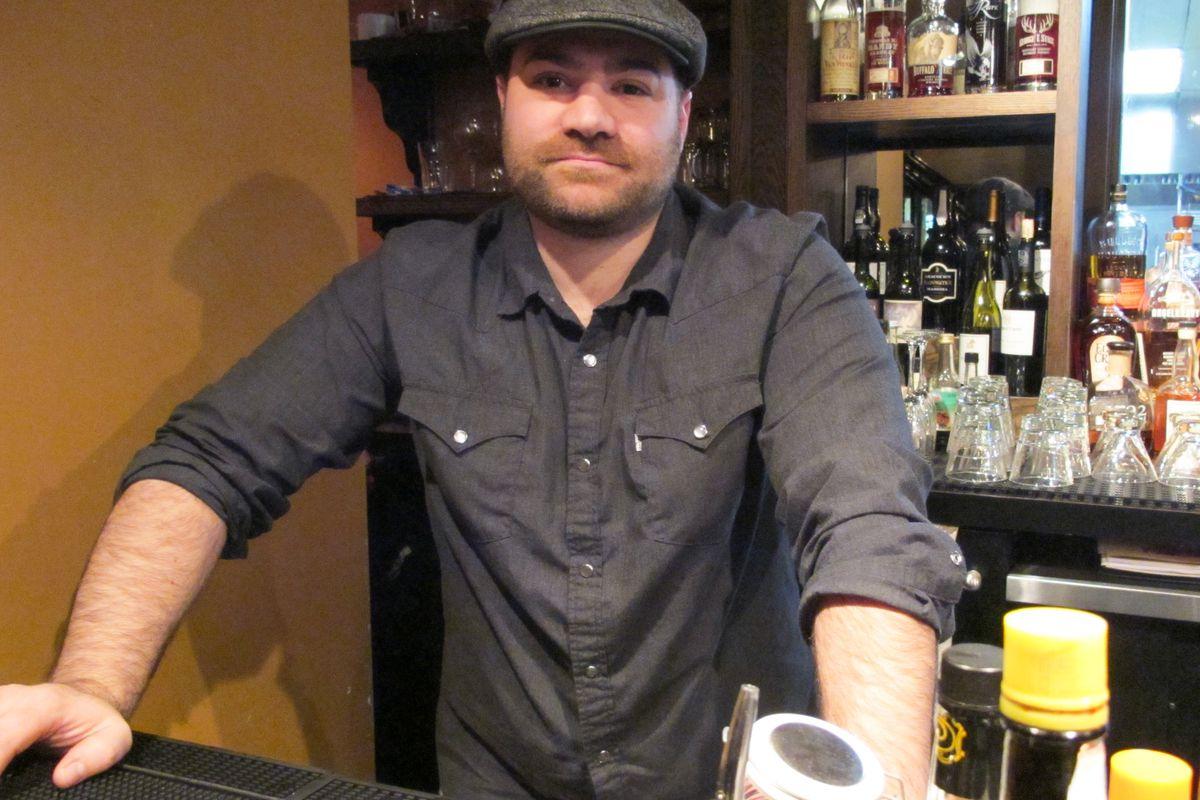 hops n scotch s bar manager nick disciscio will make you a nick disciscio katie chudy for eater