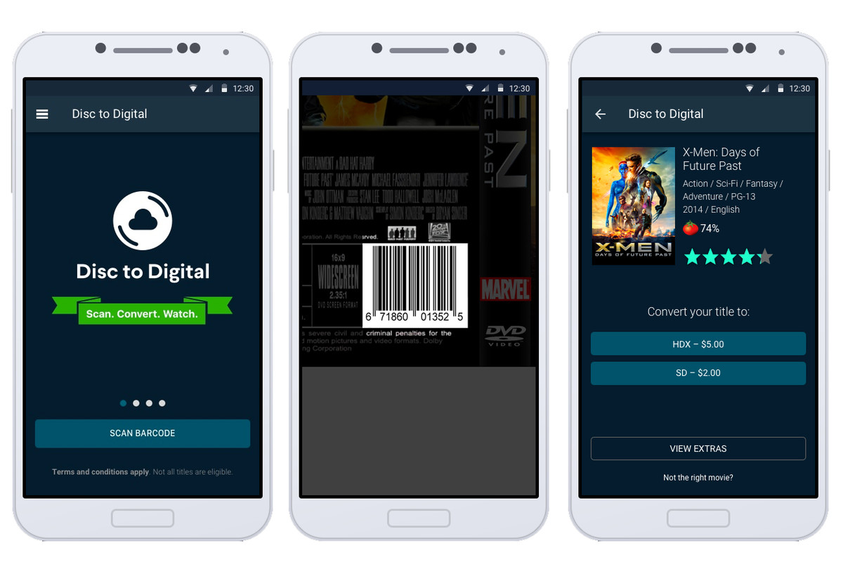 VUDU Adds Mobile Disc-to-Digital Feature for DVDs & Blu-rays