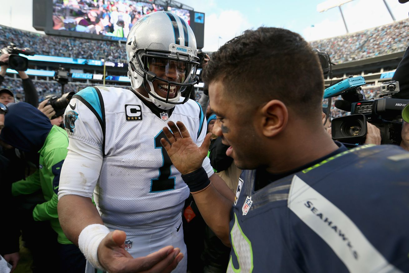 Seahawks-Panthers Sunday Night Football preview video