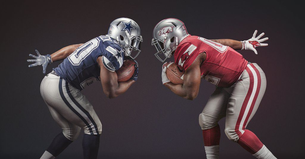 Why Arkansas Is Wearing Dallas Cowboys Uniforms Vs