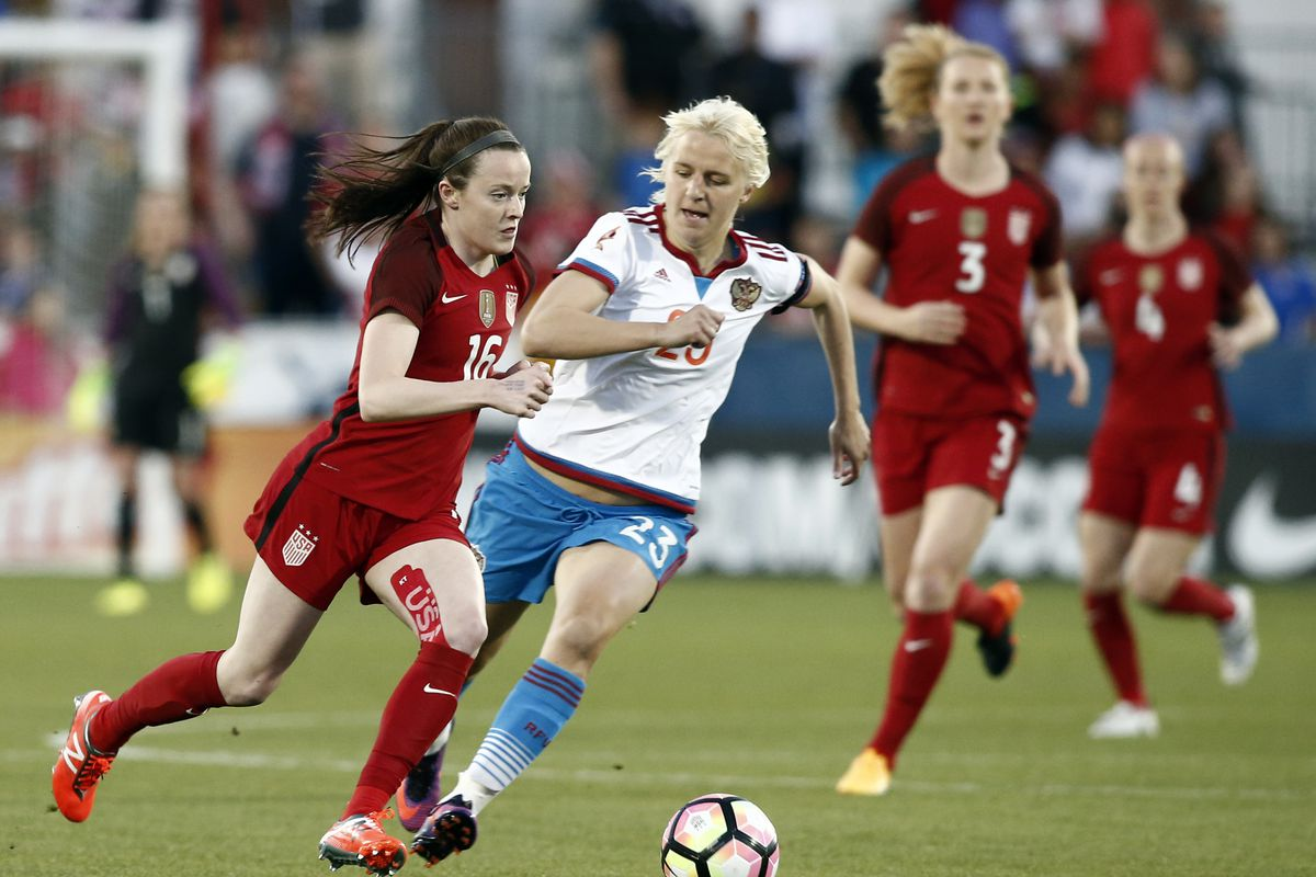 Dunn, Long score twice each, US women roll past Russia 4-0