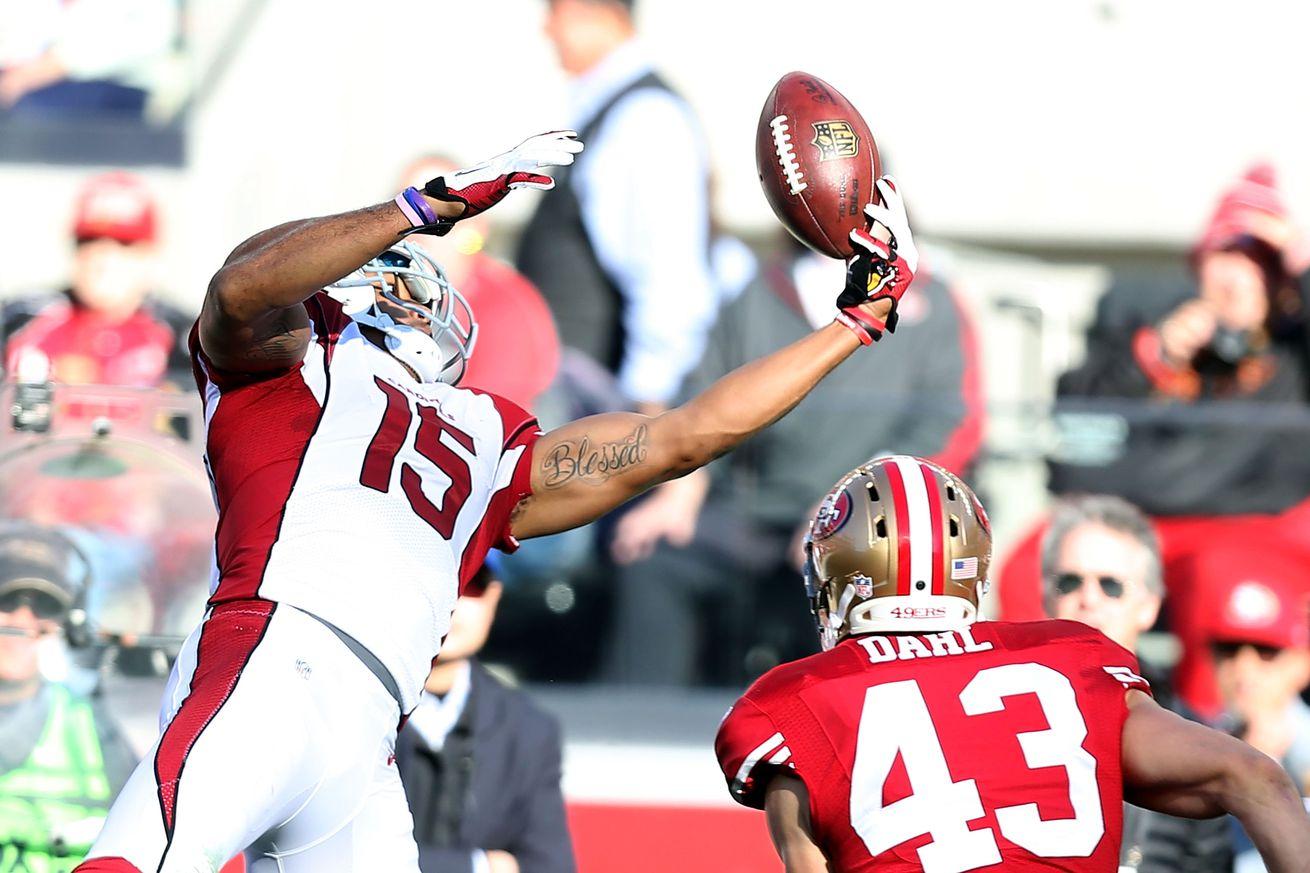 Wholesale NFL Jerseys cheap - NFL Week 1 inactives, Cardinals vs. Saints: Michael Floyd ...