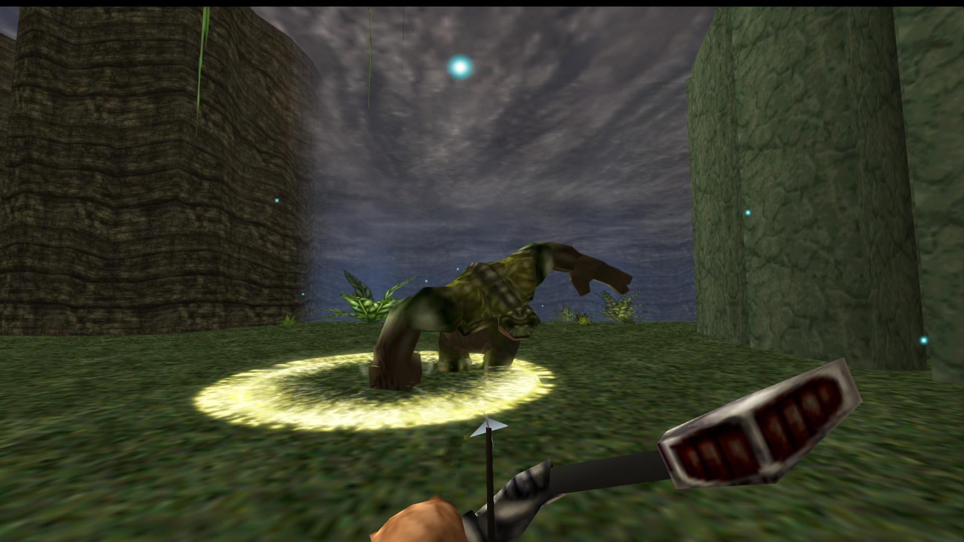 classic turok dinosaur hunter   remastered  pc  verge