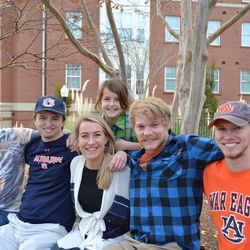 Some of the best people I ever met, I met just because of Auburn.