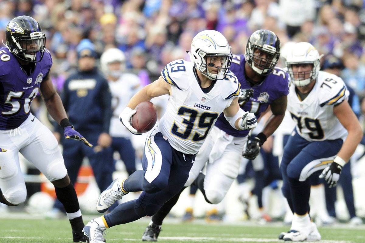 Danny Woodhead signs with Baltimore Ravens
