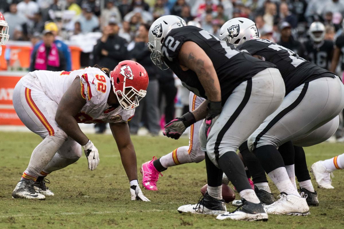 Dontari Poe gets the same amount of money as Bennie Logan